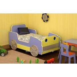 Кровать 1-сп. арт.15.11 (700х1400) МДФ/ЛДСП Для ребенка от 1-го до 9 лет.