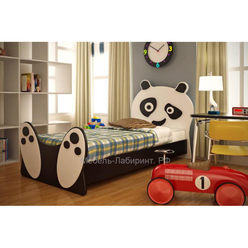 Кровать 1-сп. арт.15.9.1 (800х1800) МДФ/ЛДСП 800х1800мм. Для ребенка от 1-го до 16 лет.