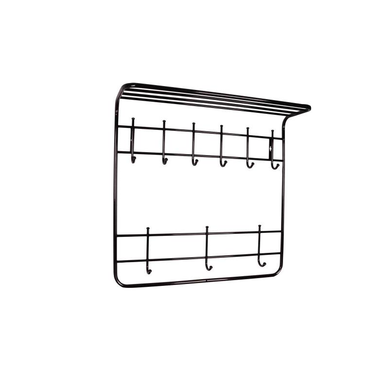Вешалка арт.16.50 металл черный 600х250хh740мм