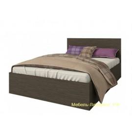 Кровать 1.5-сп. арт.22.12.15 (1200х2000) ЛДСП венге 1250х800хh2032мм