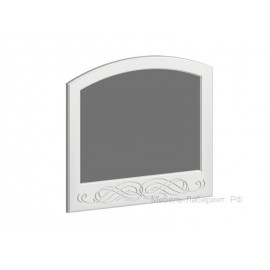 Зеркало арт.2.2.12 МДФ глянец жемчуг 800х800мм.