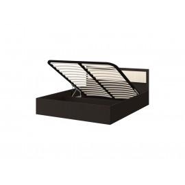 Кровать 2-сп. арт.24.20 (1400х2000) ЛДСП дуб беленый/венге 1435х2037хh800мм с подъемным механизм