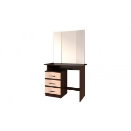 Стол туалетный арт.24.25.1 ЛДСП дуб беленый/венге 900х430хh766мм