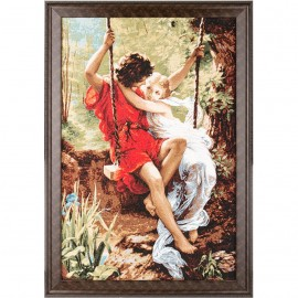 Картина-сюжет арт.28.27 500х760мм ткань гобелен