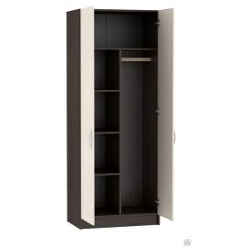 Шкаф 2-х. дв. арт.4.43.14 ЛДСП дуб беленый/венге 800х490хh1980мм.