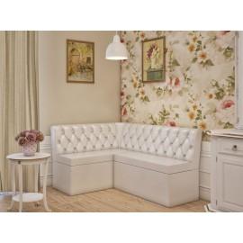 Кухонный диван арт.43.10 кожзам бежевый 1200х1600хh850мм.