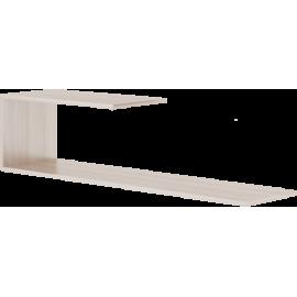 Полка навесная арт.49.3.11 ЛДСП ясень шимо светлый 1200х300хh300мм