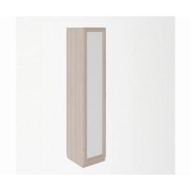 Пенал арт.49.3.20 профиль МДФ/ЛДСП белый/ясень шимо светлый 400х475хh2000мм