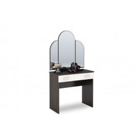 Стол туалетный арт.4.43.11 ЛДСП дуб беленый/венге 820х430хh1580мм.