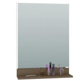 Зеркало арт.71.19.2 ЛДСП латте 550х140хh760мм.