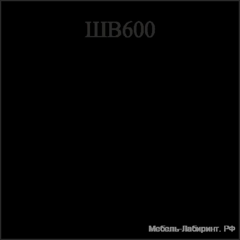 Схема арт.2.20 Шкаф верхний 600х300хh715мм
