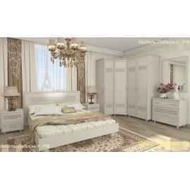 Модульная спальня арт.2.37 ЛДСП дуб беленный